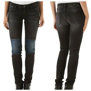 Maison Scotch Patchwork Skinny Jeans